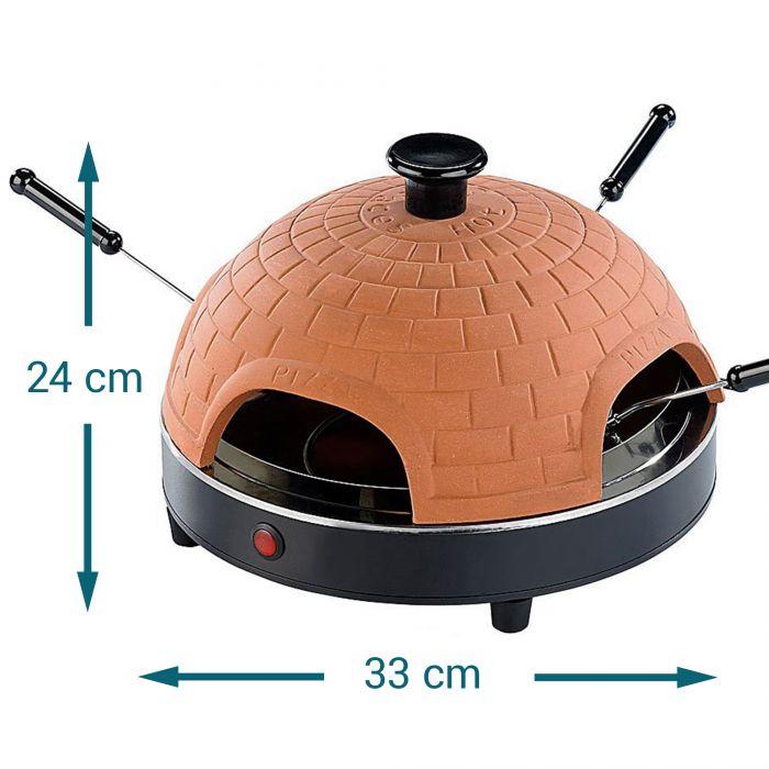 Four à pizza maison en terre cuite