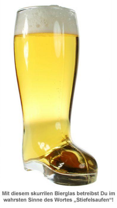 Bierglas - Stiefel