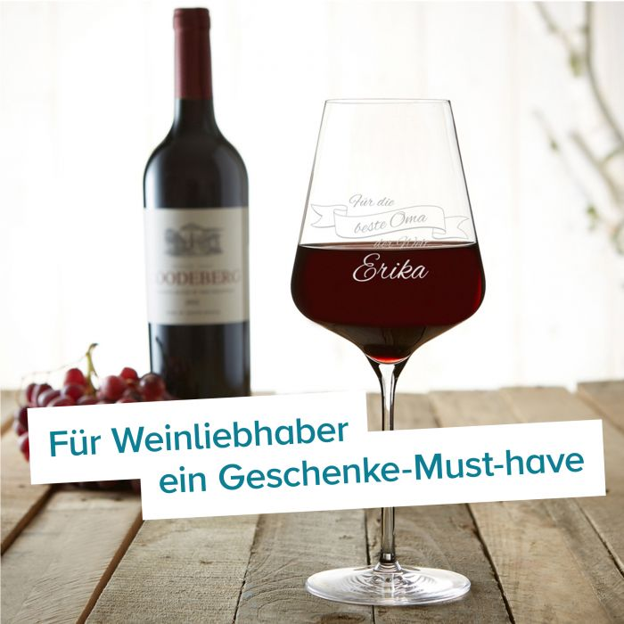 Weinglas mit Gravur - Beste Oma