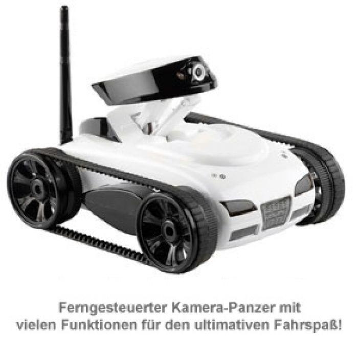 Spy Tank - Wireless Panzer mit Kamera