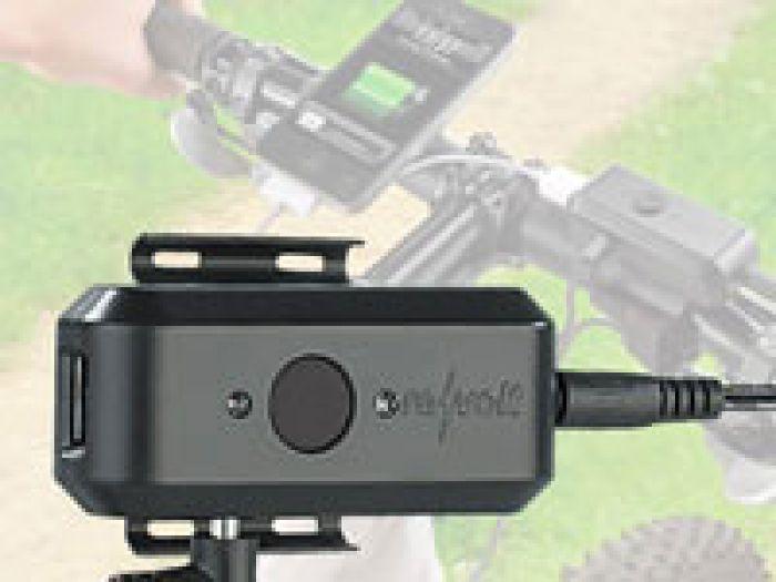 Fahrrad Dynamo-Ladegerät - unterwegs den Akku aufladen