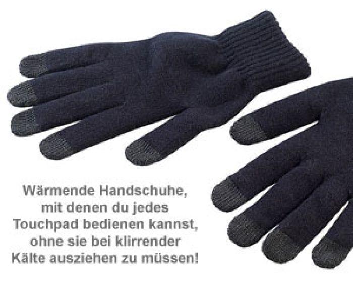 Handschuhe für Touchpad Bedienung - Größe M