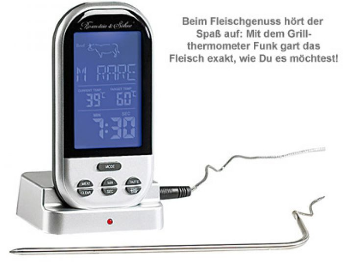 Grillthermometer Funk