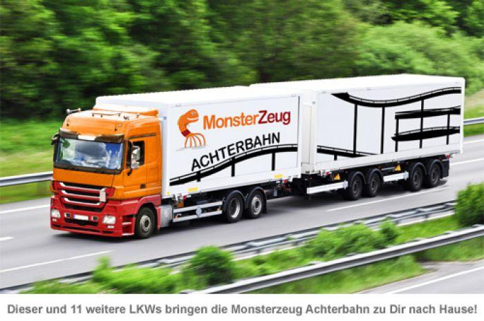 Vorgarten Achterbahn 2.14 Mio.-teiliger Bausatz