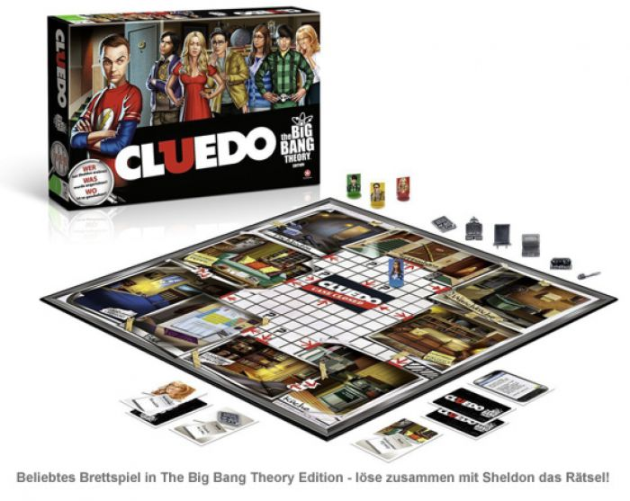 Cluedo - The Big Bang Theory Edition
