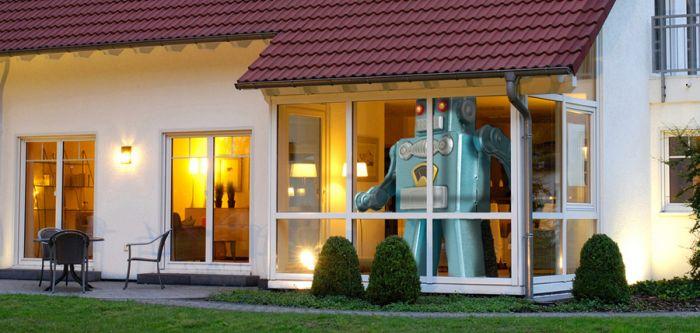 Riesen Roboter - ferngesteuert