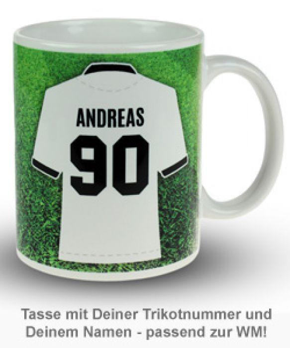 Fußball Tasse - Weltmeister