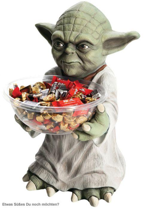 Yoda XL Süßigkeitenspender - Star Wars
