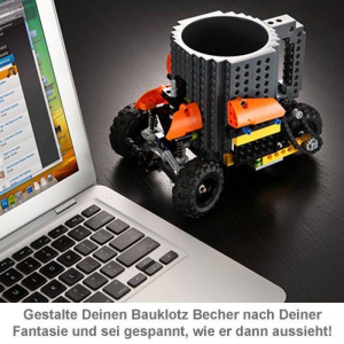 Bauklotz Becher