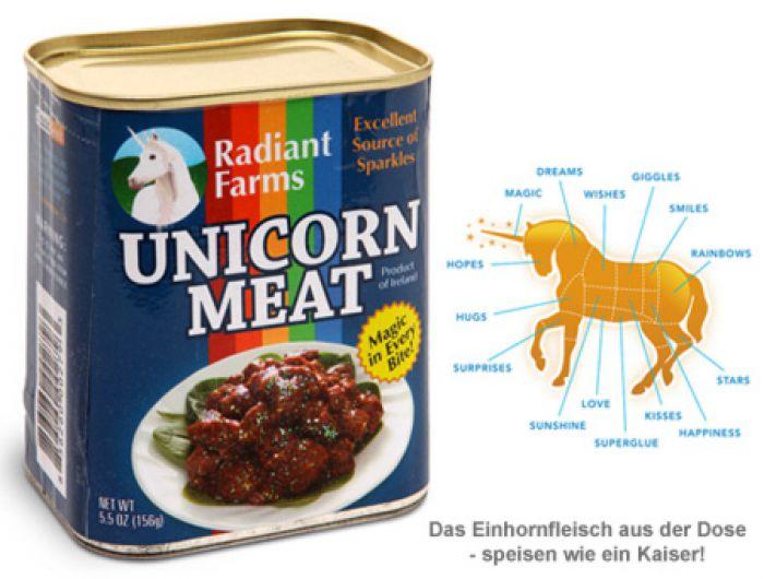 Einhorn Dosenfleisch