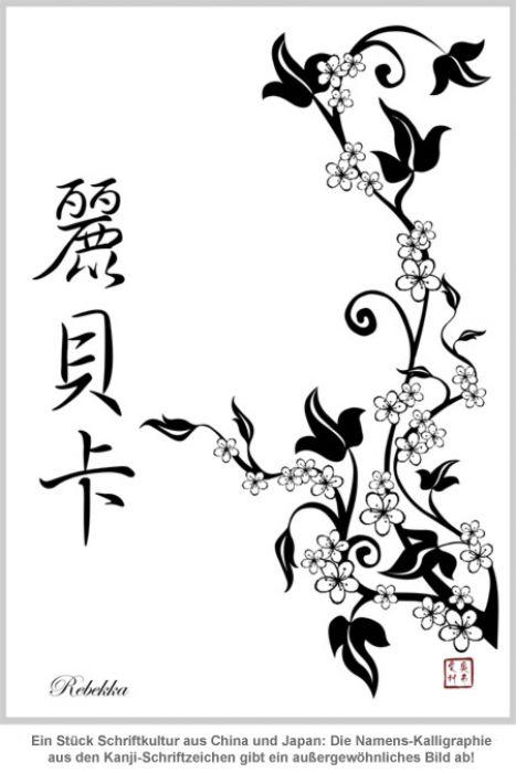 Personalisierte Kalligraphie - Vorname