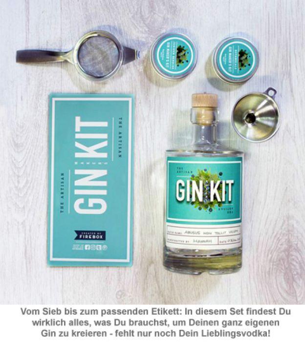 Das ultimative Gin Set - Gin selber machen