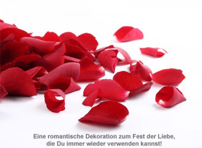 Deko Rosenblätter