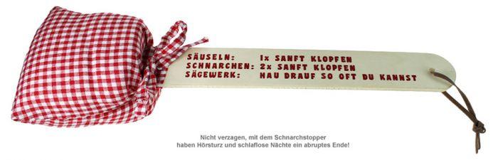 Schnarchstopper - Anti Schnarch Klatsche