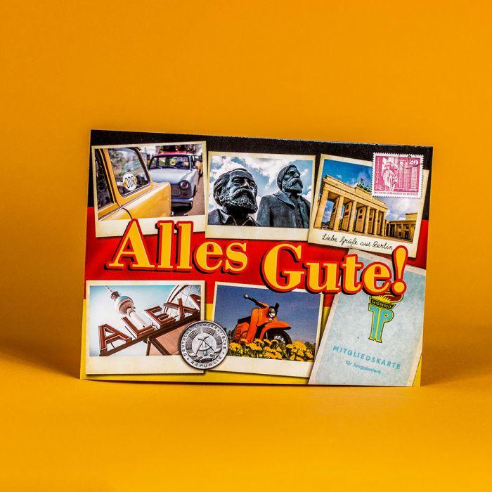 Original DDR Süßigkeiten Box