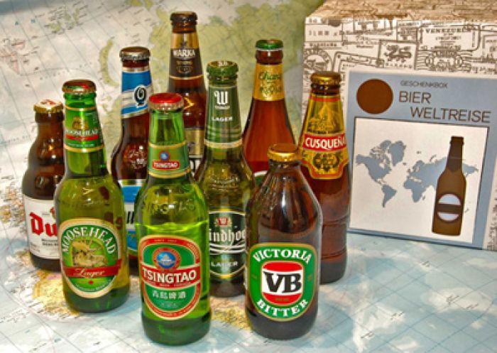 Bières du monde – Boîte cadeau