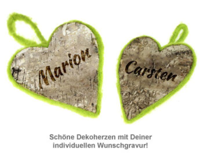 Deko Naturherz