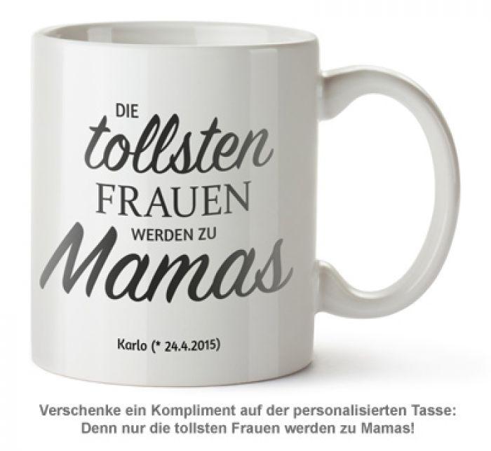 Personalisierte Tasse - Beförderung zur Mama