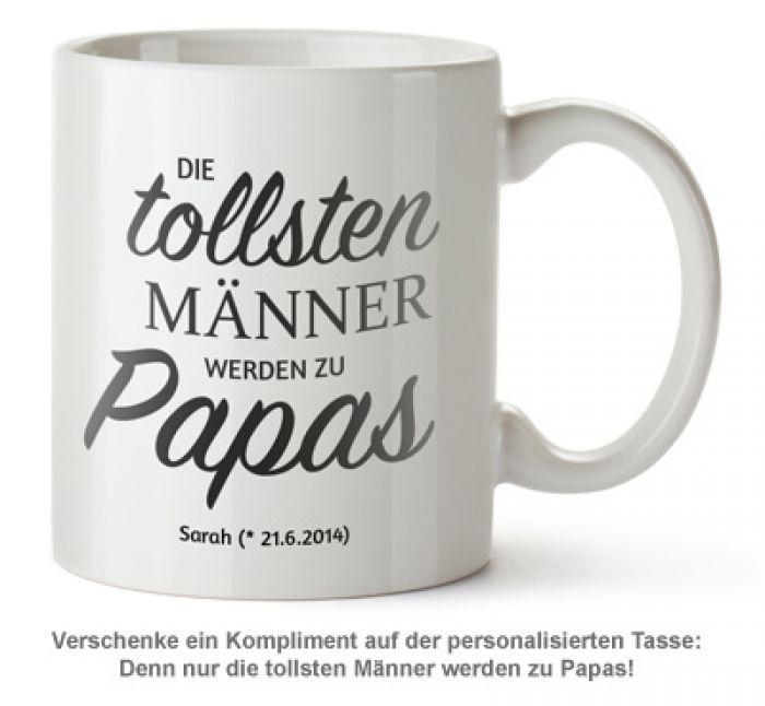 Personalisierte Tasse - Beförderung zum Papa
