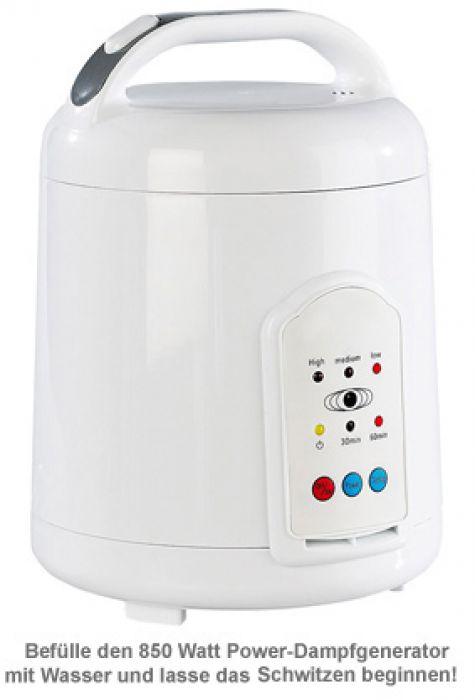 Heimsauna - Dampfbad für zuhause