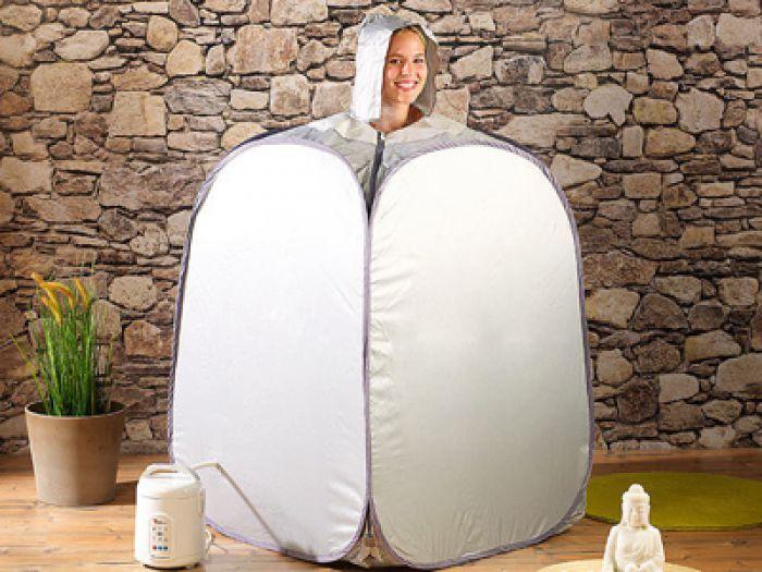 Gut gemocht Heimsauna - Dampfbad für zuhause - kompakt, simpel und entspannend YW93