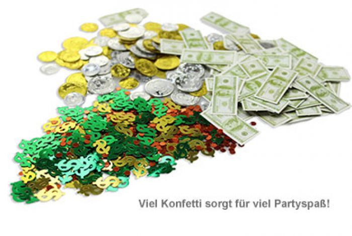 Party Konfetti - Geld