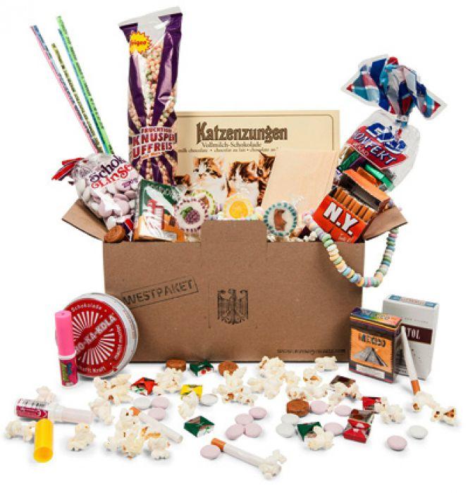 Original BRD Süßigkeiten Box - 14-teilig