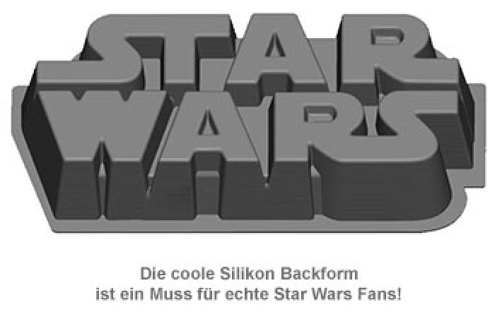 Star Wars Silikon Backform