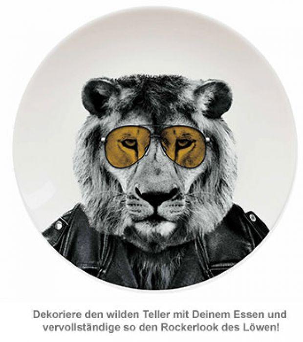 Wilder Teller - Löwe