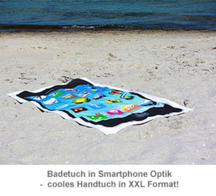 Smartphone Handtuch