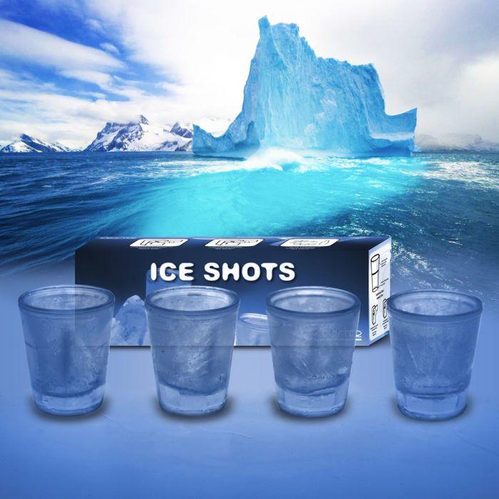 Verres à shots fraîcheur à double paroi – set de 4