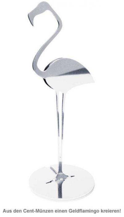 Design Münzmagnet - Flamingo