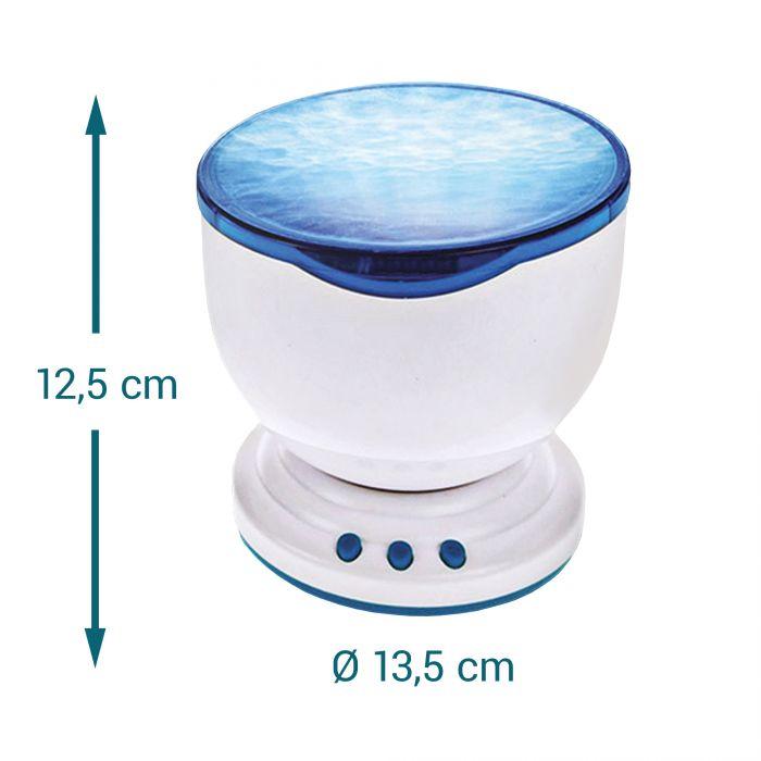 Wellen Projektor mit integriertem Lautsprecher