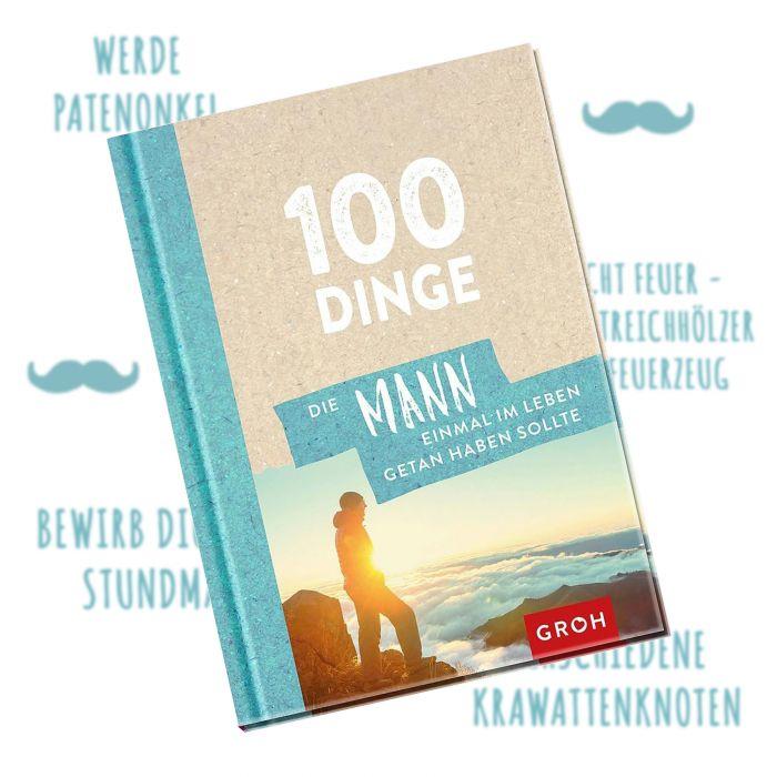 Buch - 100 Dinge, die Mann getan haben muss