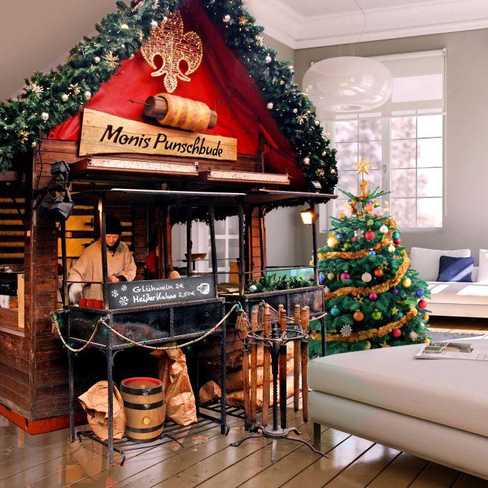 Glühweinstand fürs Wohnzimmer - 51.004-teiliger Bausatz
