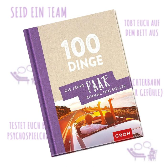 Buch - 100 Dinge, die ein Paar getan haben muss