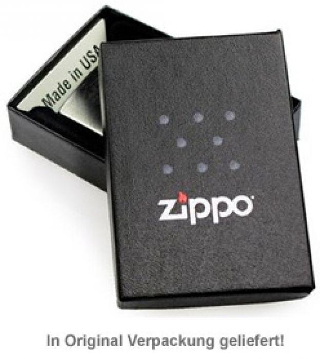 Zippo Feuerzeug mit Gravur - Hashtag Papa