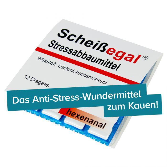 Scheißegal Stressabbaumittel - 5er Set