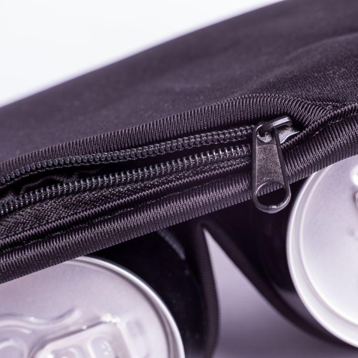 Thermo Trinkgürtel für Dosen - schwarz