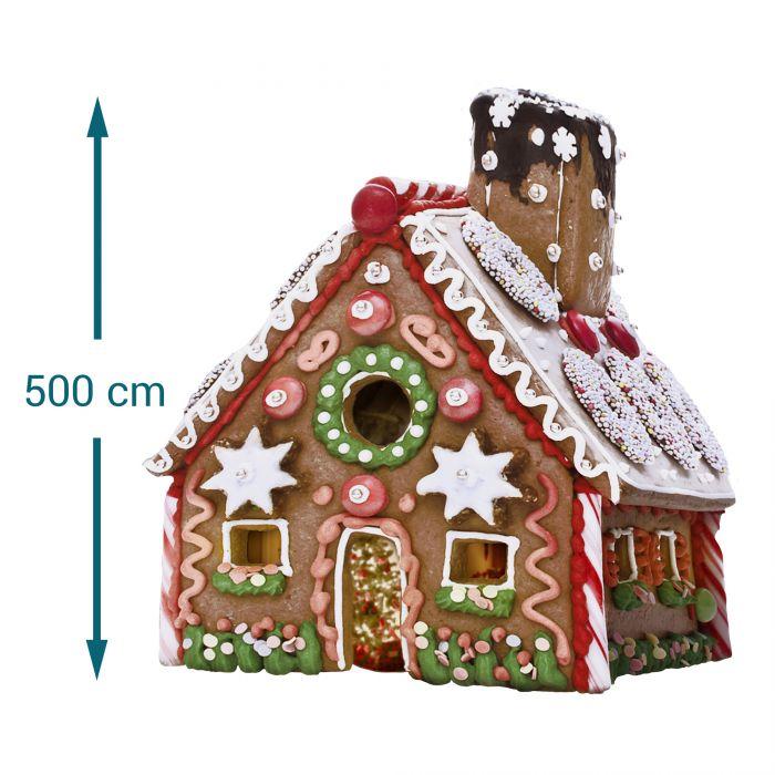 Riesen Lebkuchenhaus - Eigenheim zum Selberbacken