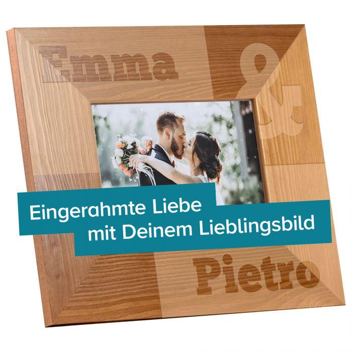Personalisierter Bilderrahmen für Paare - Kaufmännisches Und