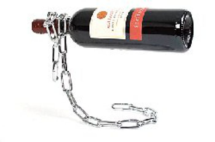 Magischer Weinflaschenhalter - Kette