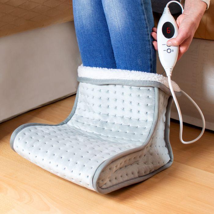 Fußwärmer mit Massage - 2in1