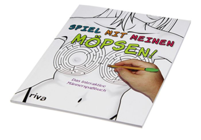Spiel mit meinen Möpsen - Männerspaßbuch