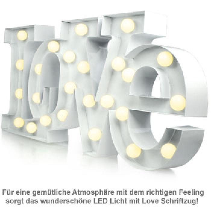 LED Licht Vintage - Love