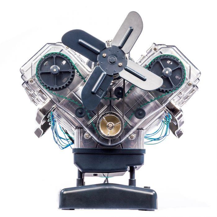 Maquette Moteur V8 – 250 pièces