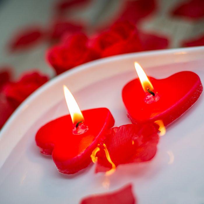 Set bien-être avec pétales de roses