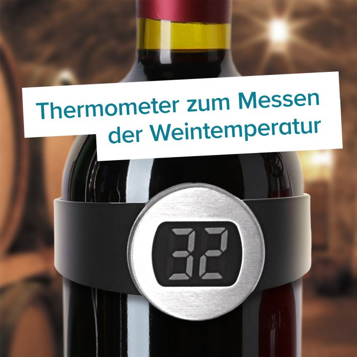 Digitales Flaschenthermometer