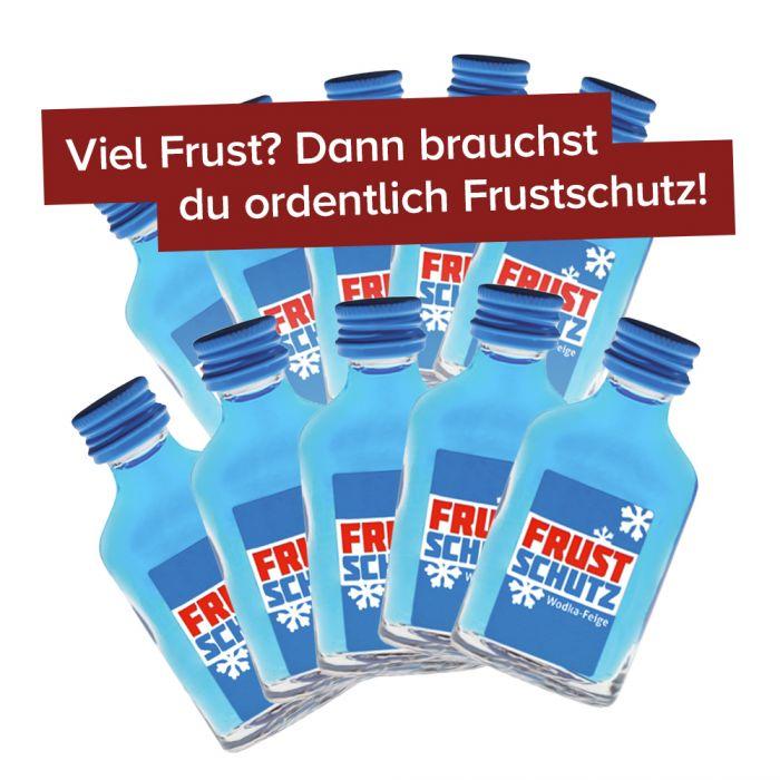 Frustschutz - 20 ml Wodka Feige - 10er Set