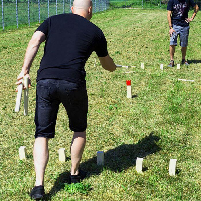 Wikinger Wurfspiel für den Garten
